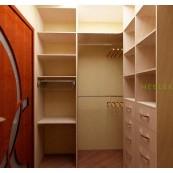 Гардеробная мебель на заказ в Новороссийске